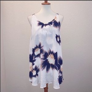 Flynn Skye Floral Mini Dress Size Small